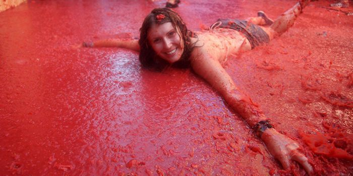 Courtesy of La Tomatina