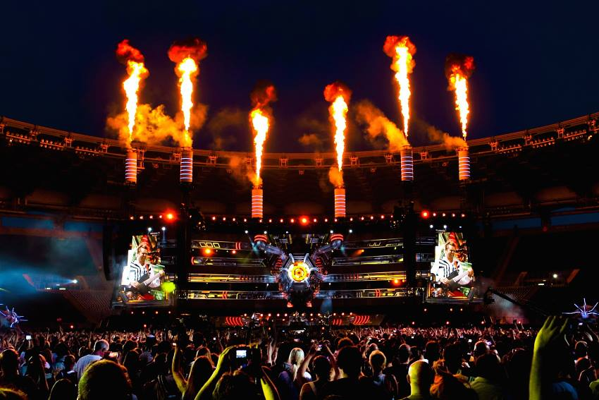 Muse at Rock in Roma