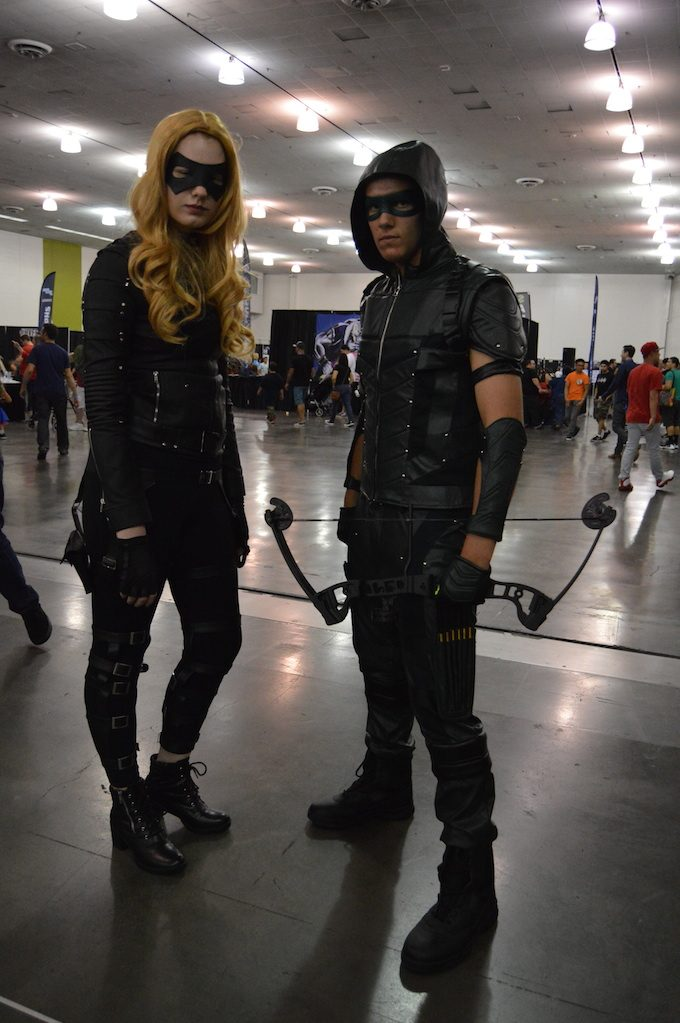 Black Canary and Green Arrow from Arrow.