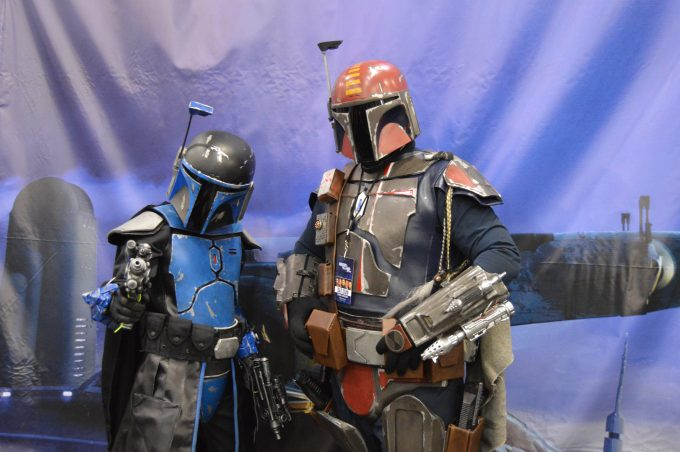 Bounty Hunters from Star Wars.