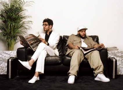 Dave-1 & P-Thugg. Chromeo. Photo by Harry Peccinotti.