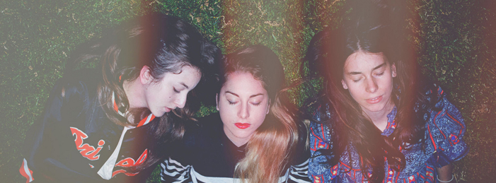 Sister band Haim consists of Este, Danielle, and Alana
