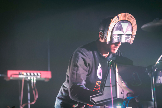 SBTRKT at 9:30 Club – Washington, DC – 10.25.2014