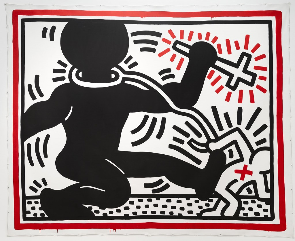 keith haring the political line