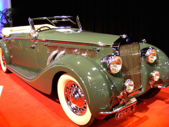1937 Deluge D8 120 Drop Head Coupe