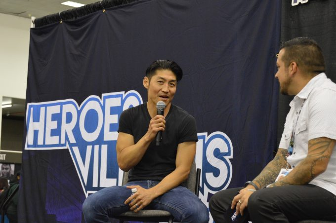 Brian Tee (Shredder) from Guardians of the Galaxy.