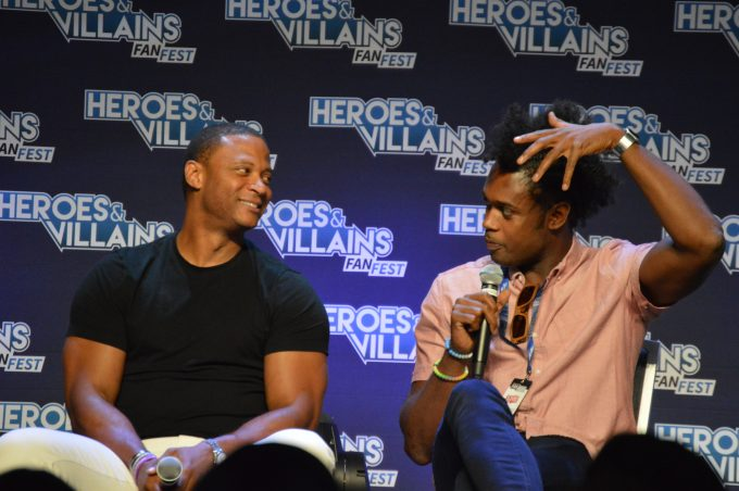 David Ramsey, Echo Kellum of Arrow