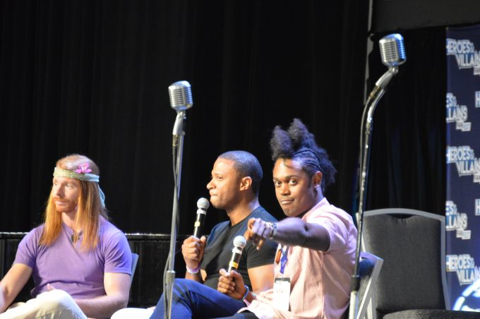 JP Sears, David Ramsey (John Diggle), Echo Kellum (Curtis Holt) .