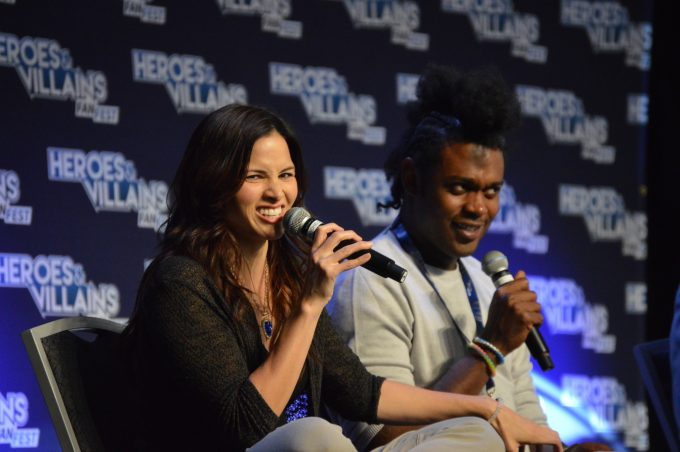 Katrina Law, Echo Kellum of Arrow 2