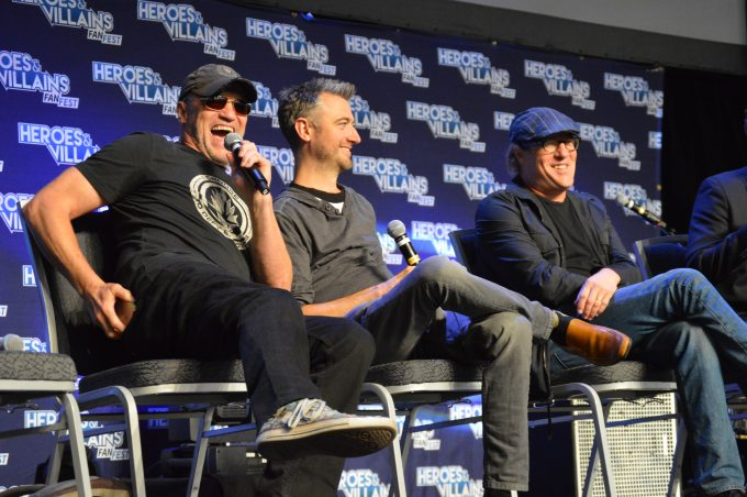 Michael Rooker,Sean Gunn,Gregg Henry of Guardians of the Galaxy